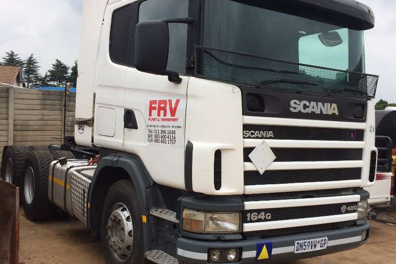 Scania  double axle Scania 480 Truck-Tractor