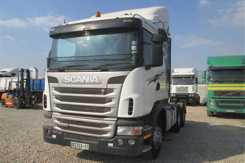 Scania G380 Truck-Tractor