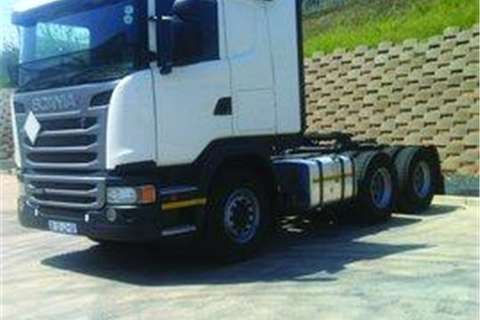 Truck-Tractor Scania G460 DEMO- 2014