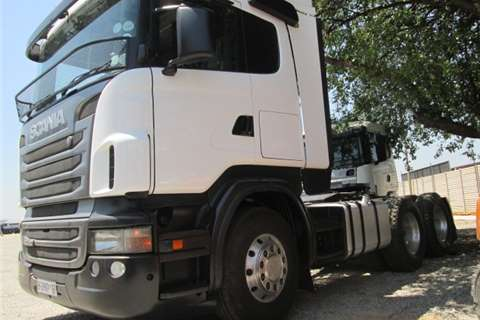 Scania R420 Truck-Tractor