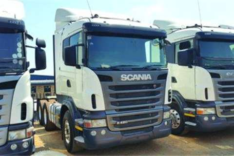 Scania R420- Truck-Tractor