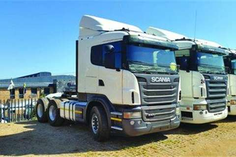 Truck-Tractor Scania R470H 6x4 T/T- 2011