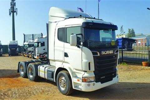 Truck-Tractor Scania R500 6X2- 2011