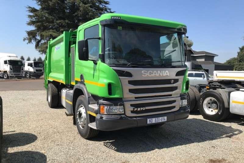 Scania Single axle P270 6m³ Trash Compactor Truck-Tractor