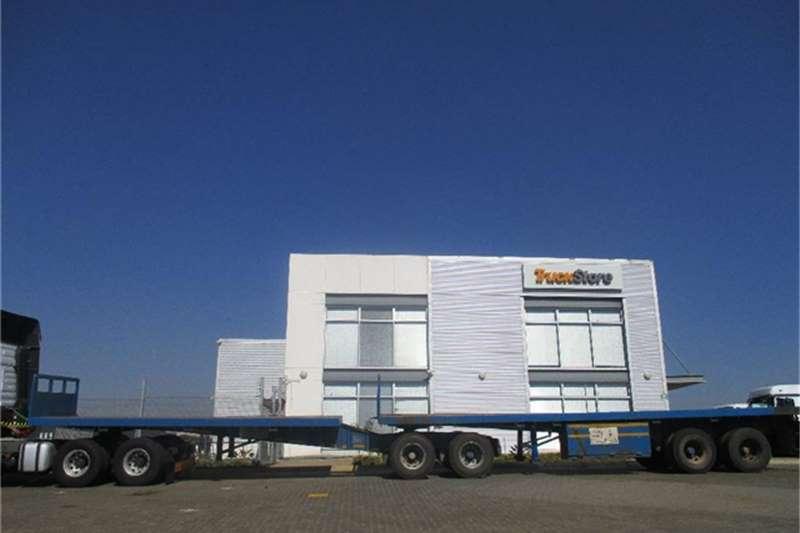 Superior Flatdeck Interlink Semi Trailer Superior Truck-Tractor
