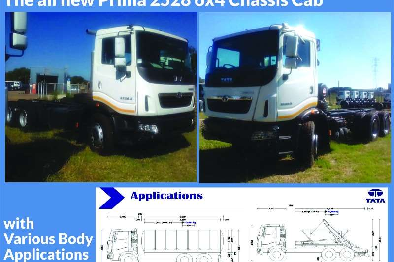 Tata  double axle Prima 2528 , Chassis Cab , Freight Carriers , New Truck-Tractor