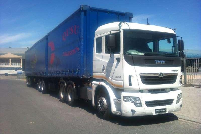 Tata  double axle PRIMA 4938 6x4 Truck-Tractor