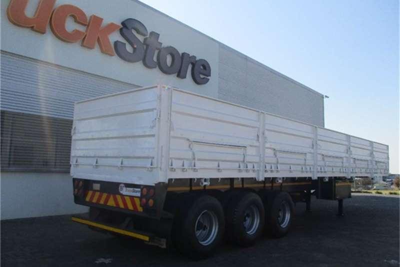 Trailer Tridem Truck-Tractor