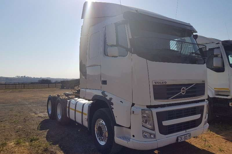 Types Of Tractor Trailers : Volvo fh double axle truck tractor trucks for sale