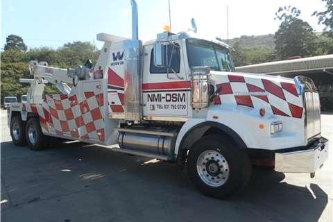 Truck-Tractor Western Star Wrecker 4900/NRC 45 slide 2015