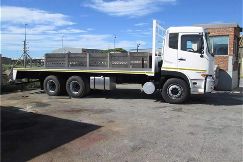 UD Flat deck 2012UD Quon CW26490 FDeck Truck