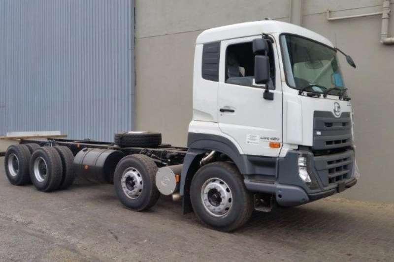 UD Rigid 8x4 Freight Carrier LWB & SWB 420 HP Truck
