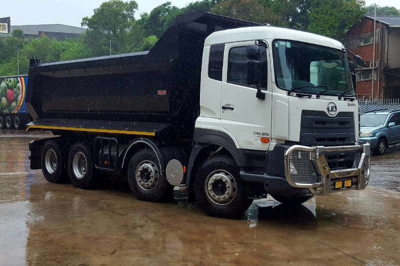 UD UD 8x4 Single Reduction Tipper 18 Cube Truck