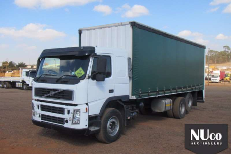 Truck Volvo Curtain Side VOLVO FM62RB TAUTLINER 2008