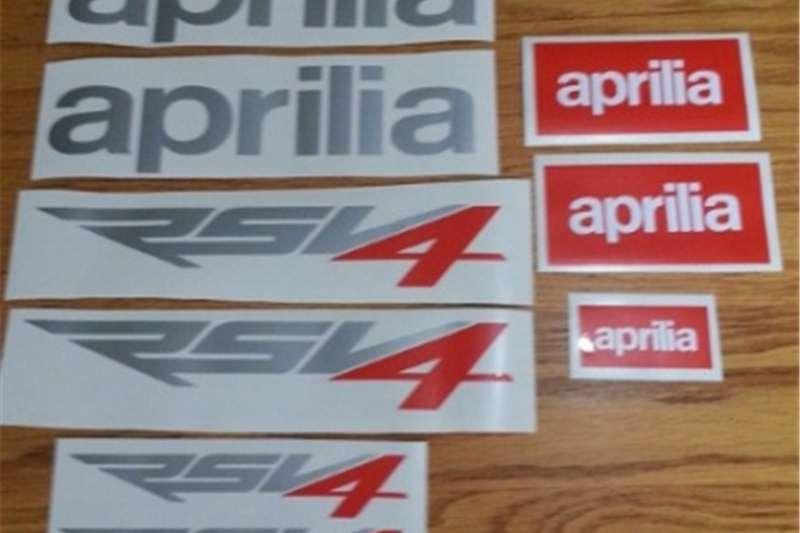 Aprilia RSV4 stickers decals graphics kit 0