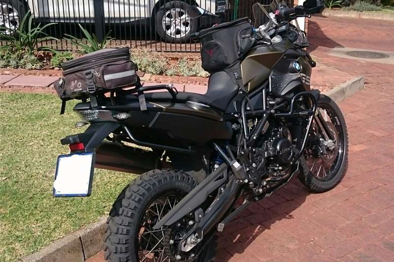 BMW F800 GS ABS, ESA, heated grips, traction control 2013