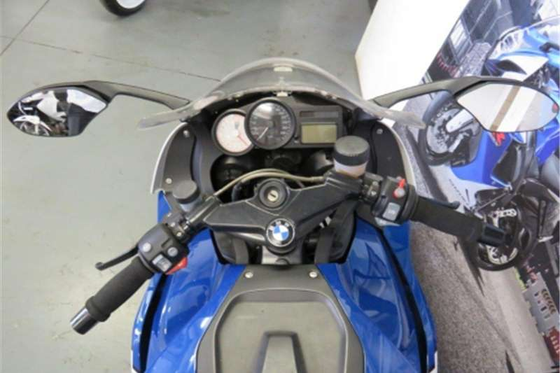 BMW K1200 S Blue and white 2006