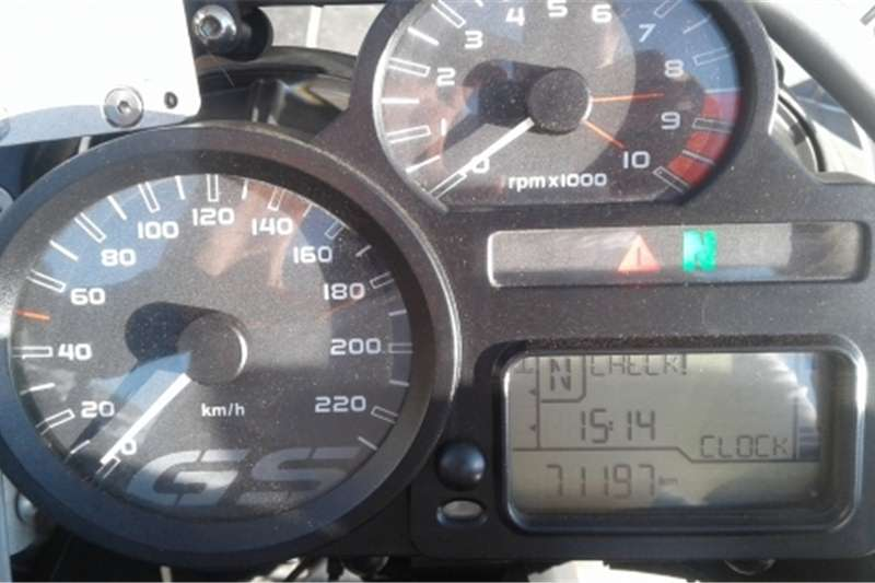 BMW R1200GS Adventure Yellow 2010