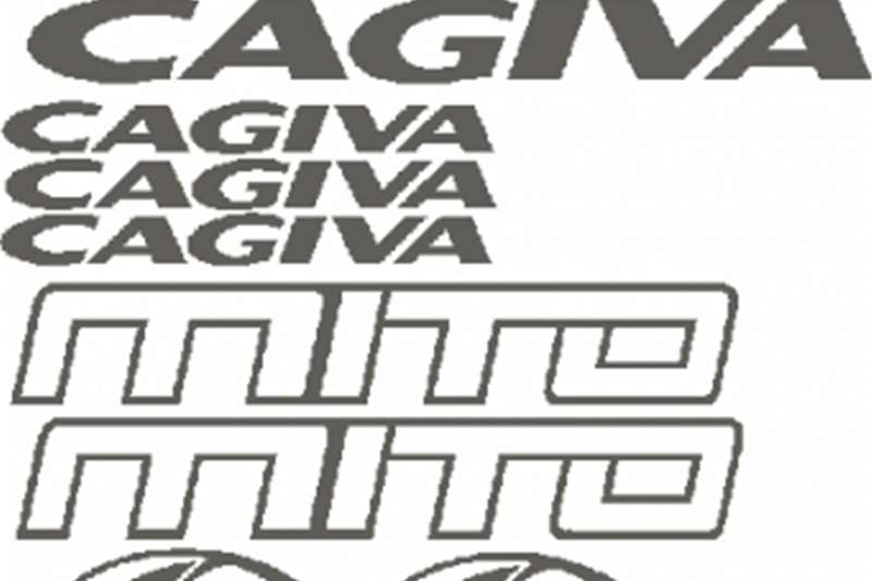 Cagiva info strade vinyl cut decals stickers graphics kit 0