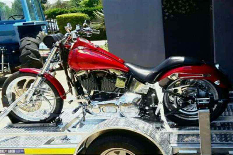 Harley Davidson and Trailer 2004