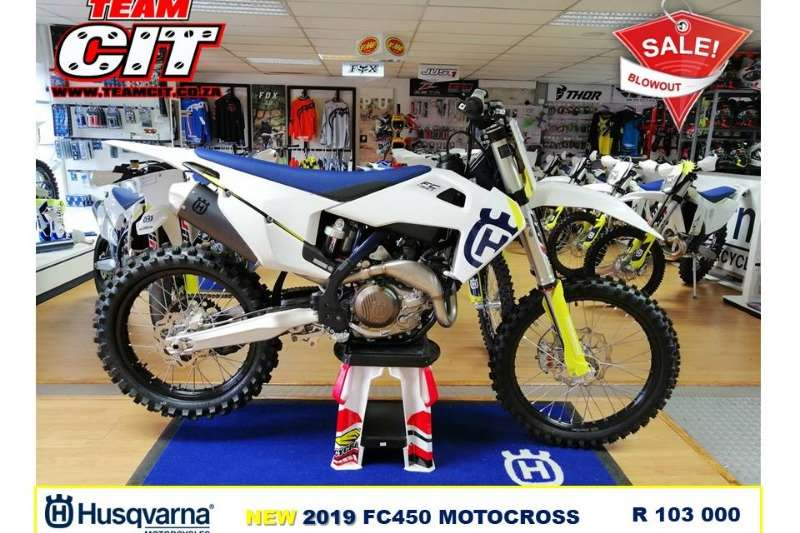 2019 Husqvarna FC 450 Motocross