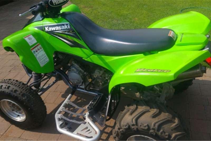 Kawasaki KFX 700 Quad Bike 0