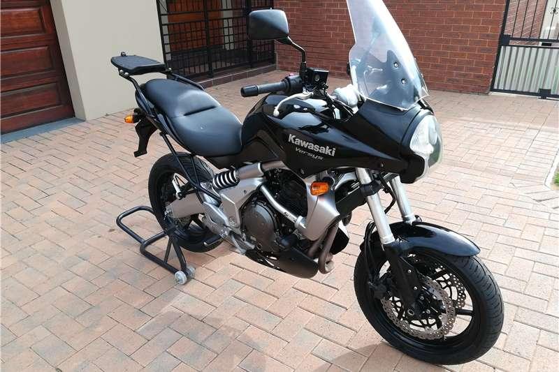 Kawasaki KLE650 Versys 2008