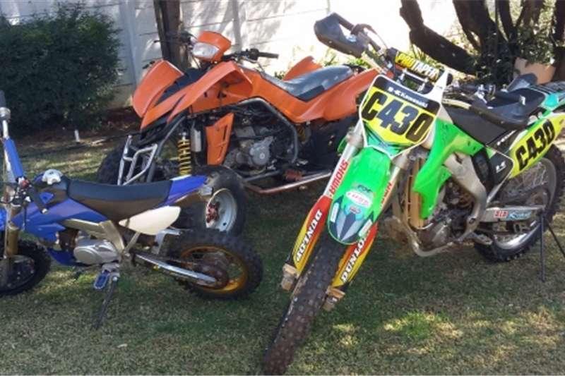 Kawasaki KX 250F Offroad  Dinli 450cc Quad  125cc Off Road  tr 2007