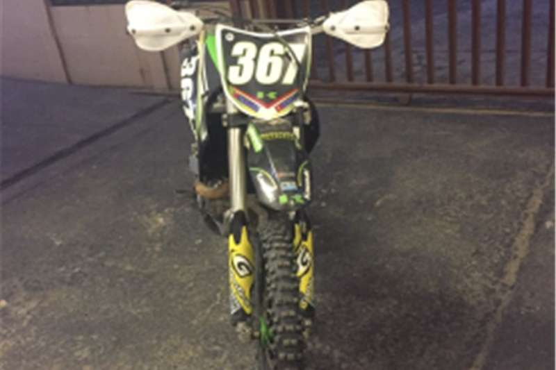 Kawasaki kx450ffeul injection 2009
