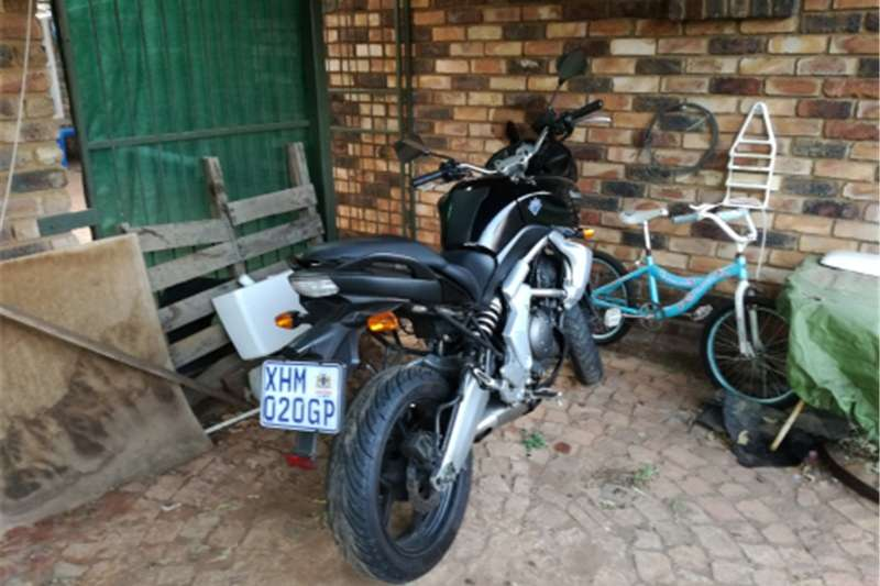 Kawasaki Verys 650cc motorcycle for sale 2008