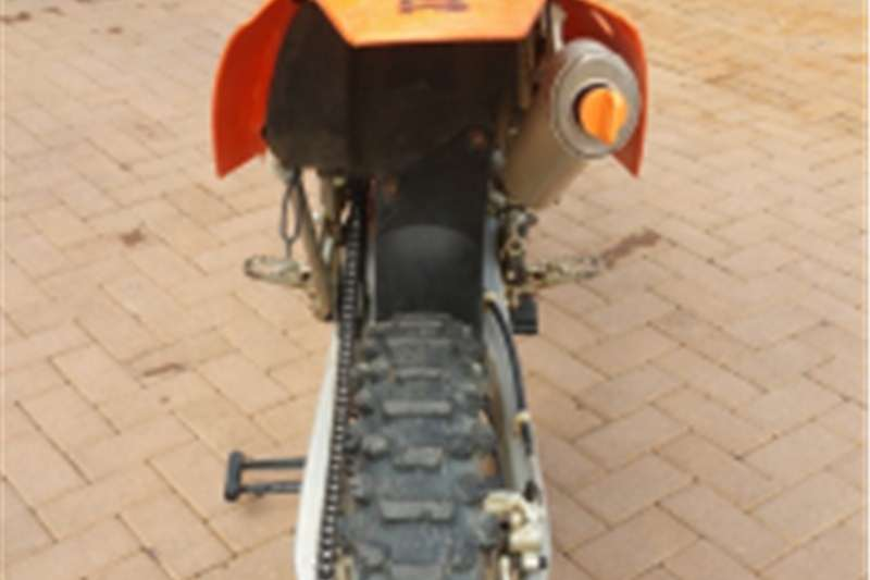 KTM 200 EXC plus MECHTER 3 bike trailer 2005