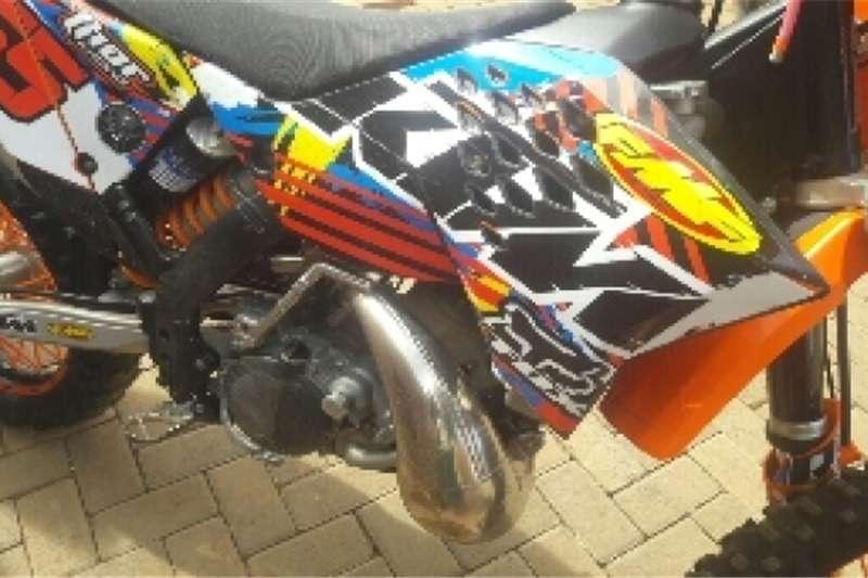 KTM 200cc XCW 0