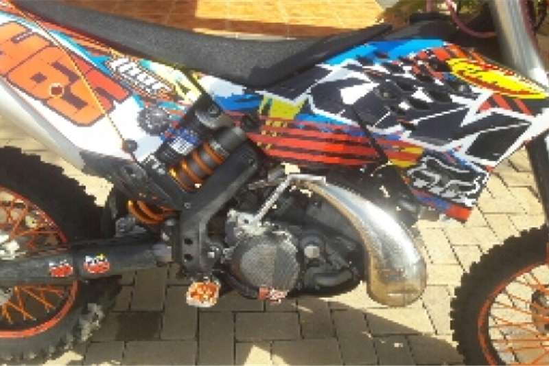 KTM 200cc XCW 2010