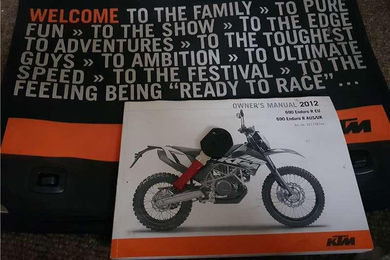 KTM Adventure 690 2012