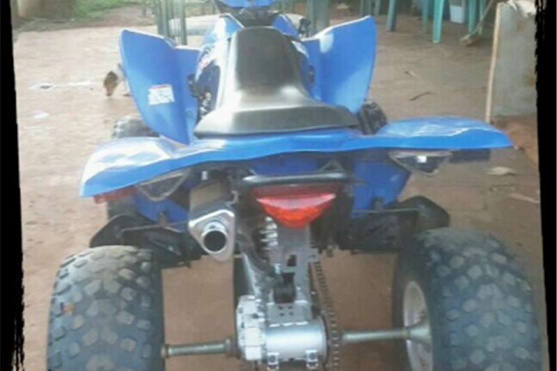 Kymco 4 wheeler 300cc well looked after   to swop for 2x 0