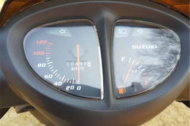 Suzuki AN125 Scooter for sale 2009