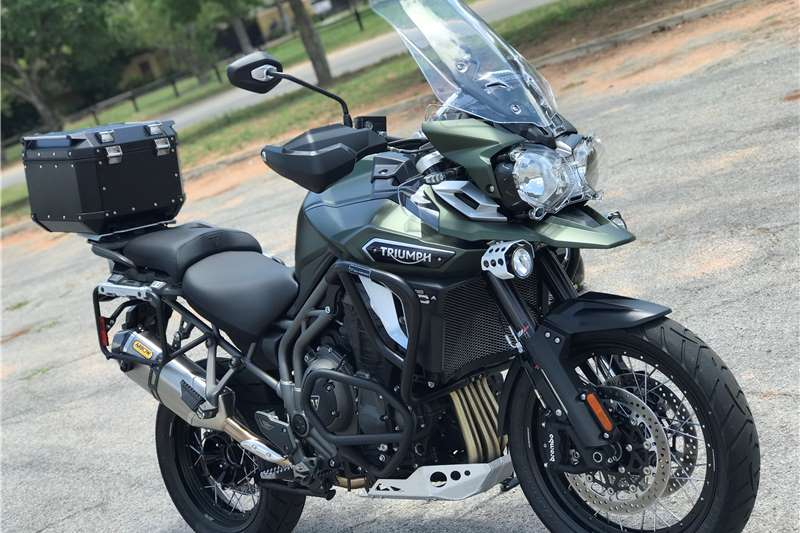 2017 Triumph Tiger 1200 Explorer Xca Motorcycles For Sale