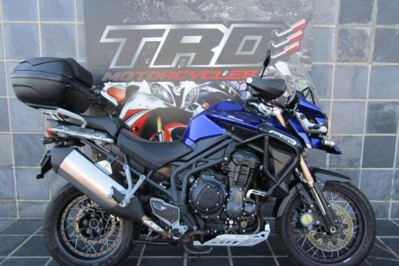 2014 Triumph Tiger 1200 Explorer XCA