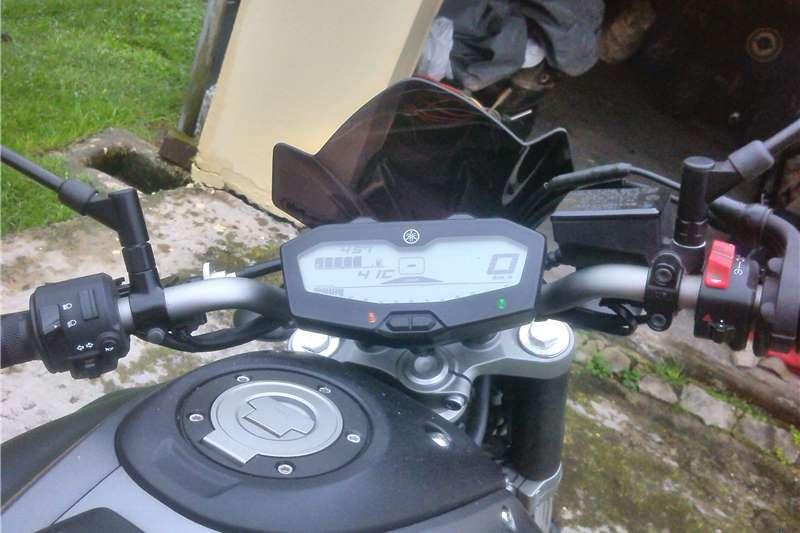 Yamaha MT-01 MT-07 2014