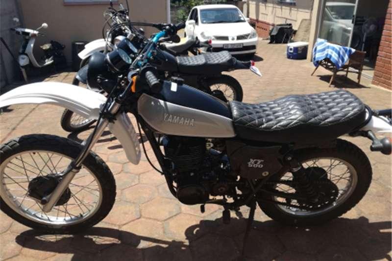 Yamaha XT 500 0