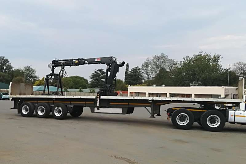 Henred 3 Axle Brick Trailers For Sale
