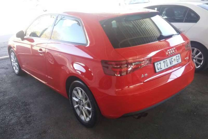 Audi A3 3 door 1.4TFSI auto 2014