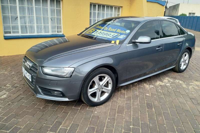 2015 Audi A4 1 8t Multitronic Sedan Fwd Cars For Sale In Gauteng