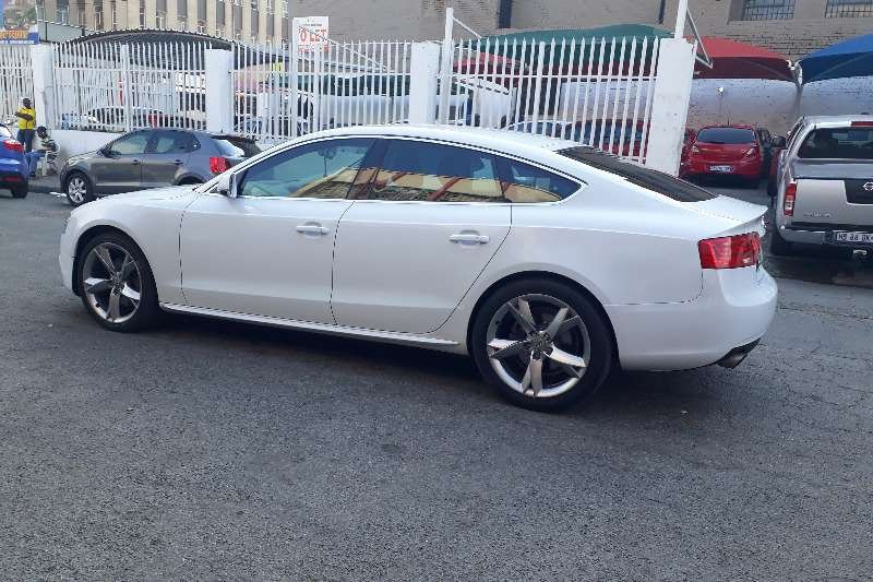 Audi A Coupé T Coupe Petrol FWD Manual Cars For - White audi a5