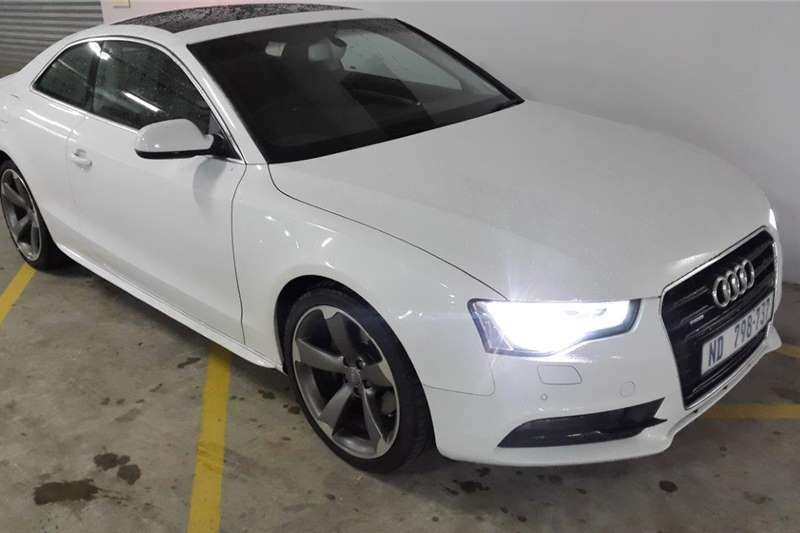 2014 audi a5 coupe 2 0tfsi quattro coupe petrol awd automatic cars for sale in kwazulu. Black Bedroom Furniture Sets. Home Design Ideas