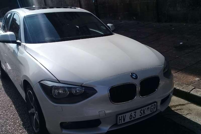 BMW 1 Series 116i 5 door auto 2013