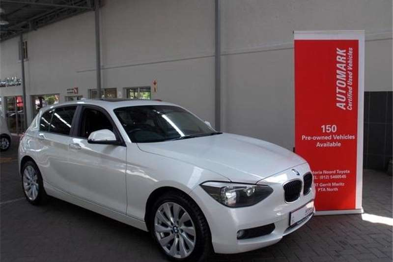 BMW 1 Series 116i 5-door auto 2015