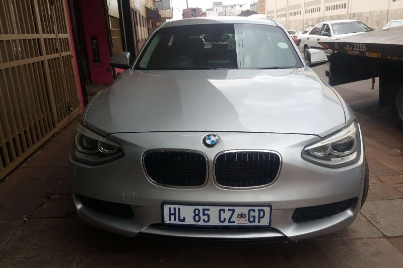 BMW 1 Series 116i 5 door Exclusive 2014