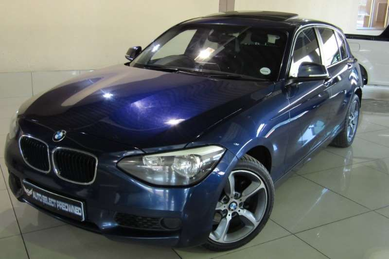 BMW 1 Series 118i 5-door auto F20 2014