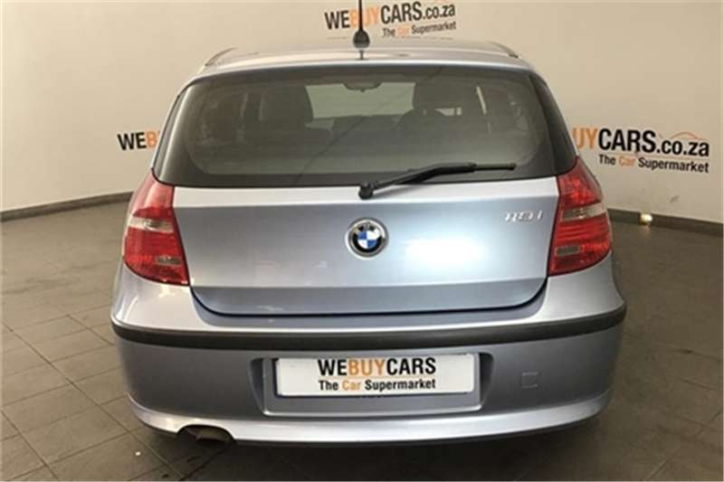 BMW 1 Series 118i 5 door Exclusive 2010